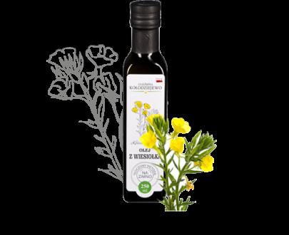 Olej z wiesiołka - Olejarnia Kołodziejewo